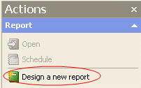 Design a new report